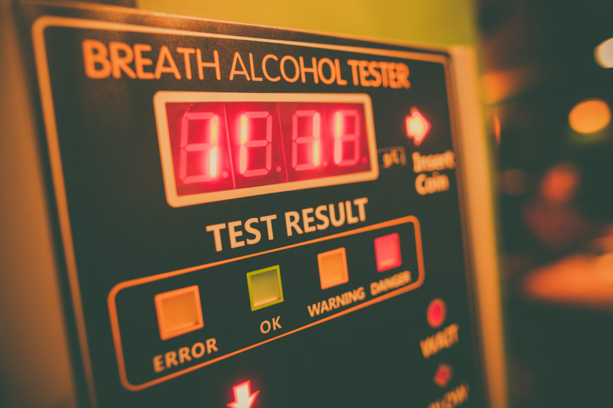 Alkohol Testgerät