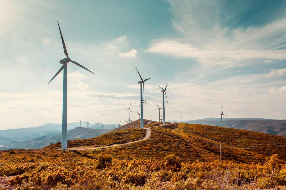 Kohlenstoffarme Wirtschaft Windenergie